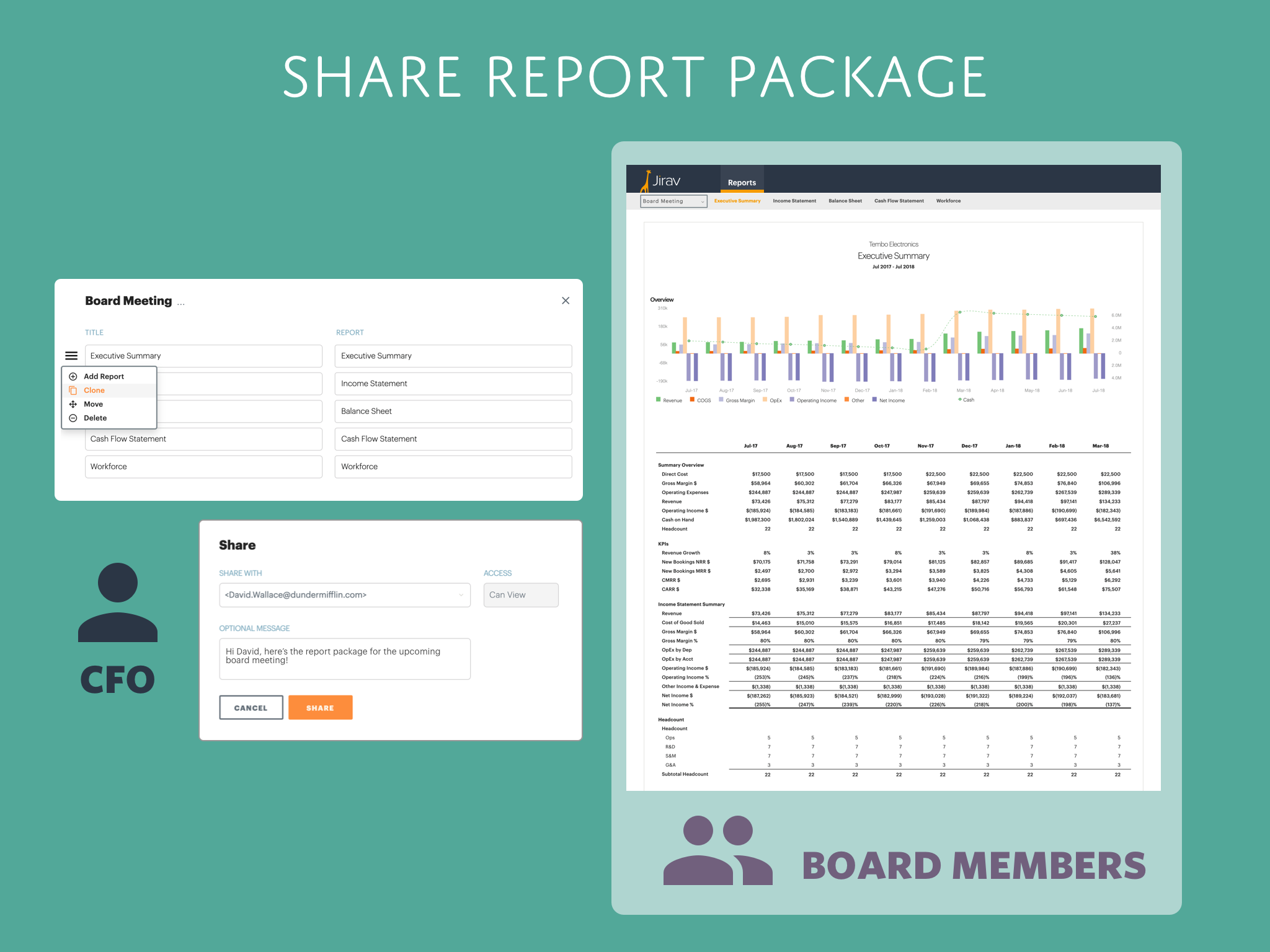 Share Report Package v2