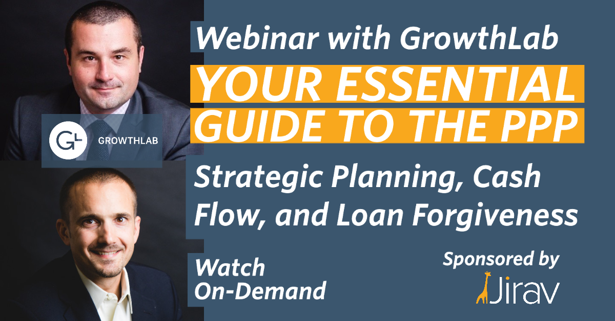 Webinar PPP Loan Forgiveness GrowthLab On-Demand