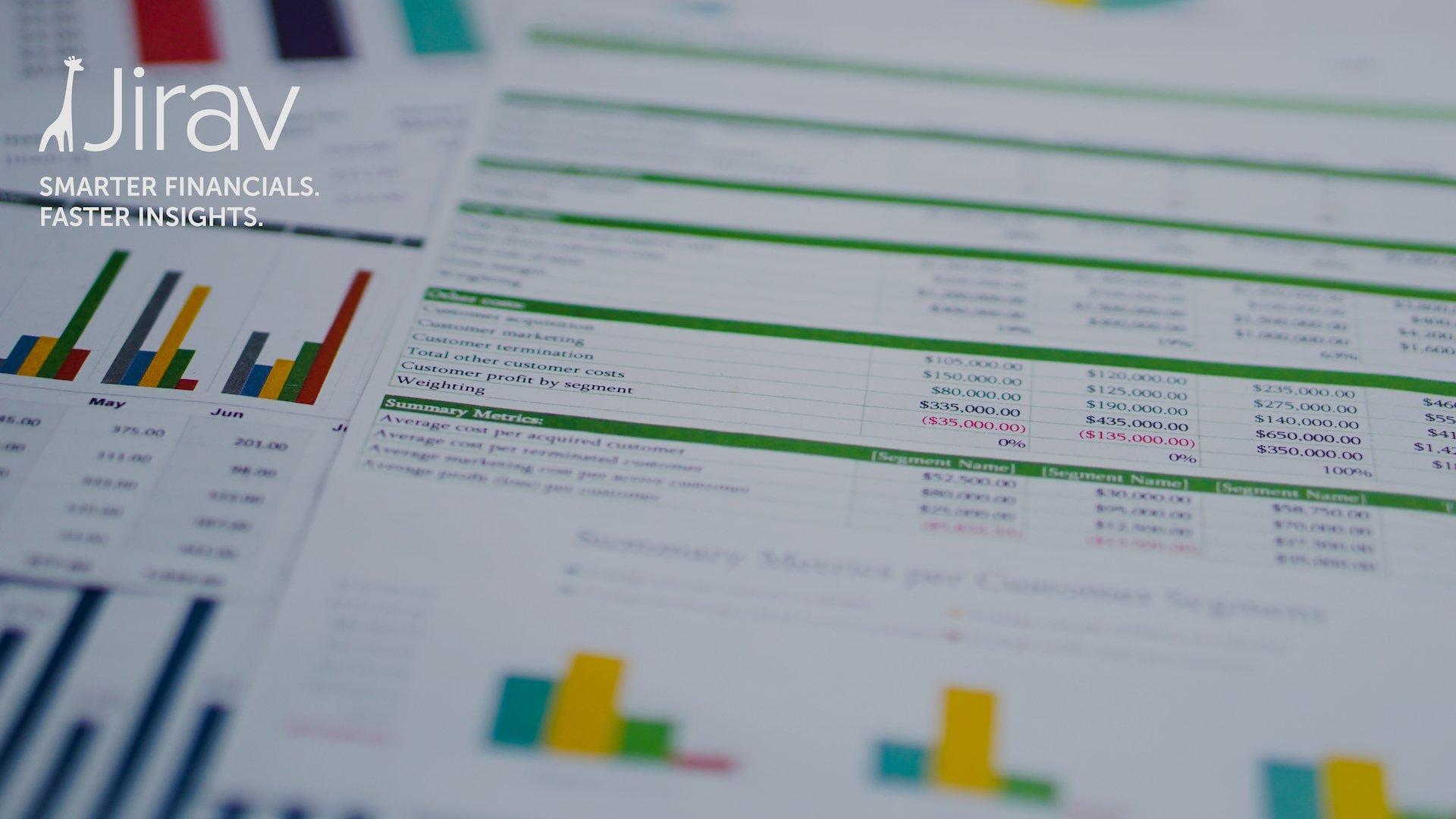 jirav spreadsheet