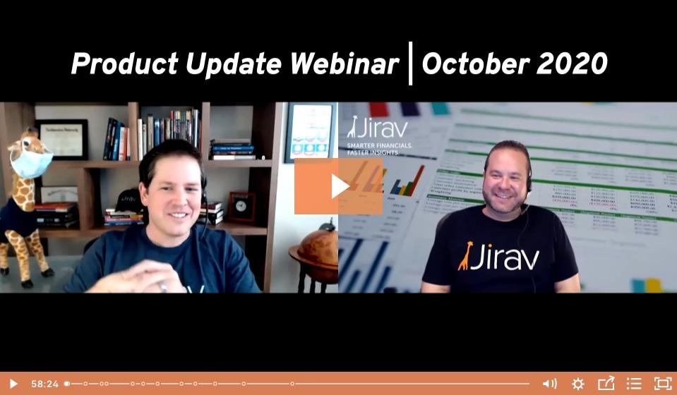 Webinar: Product Update   October 2020